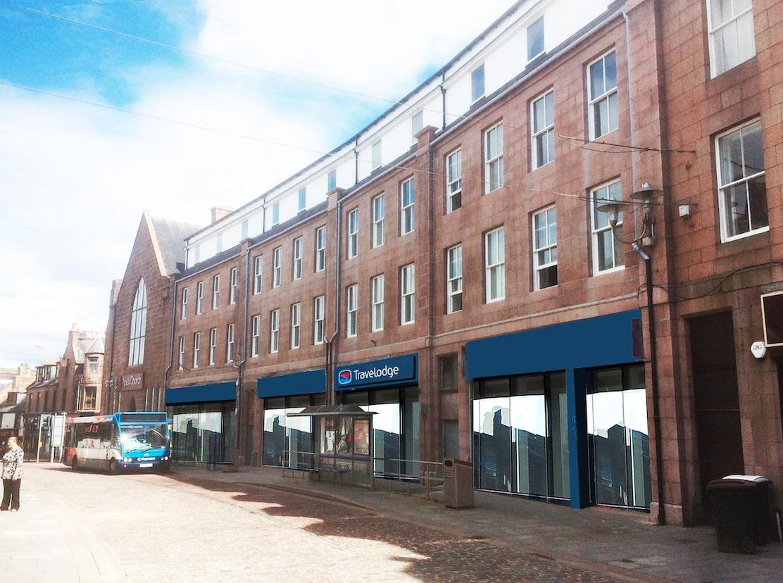 Travelodge hotel Peterhead, Ardent Group Development
